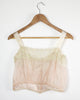 First Blush Silk and Lace Camisole