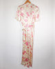 Floral Wrap Dressing Gown Duster