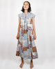 1970's Patchouli Patchwork Dress