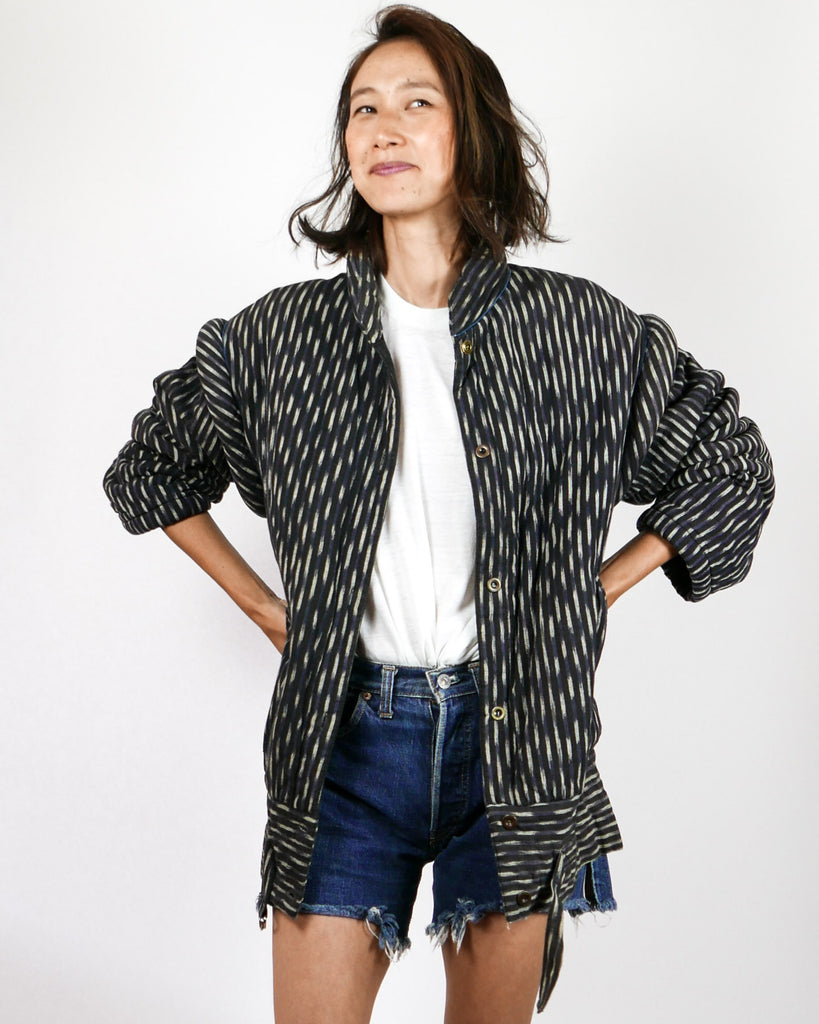 Avant Garde Quilted 1980's Bomber