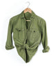 1940's Olive Long Sleeve Scout Shirt