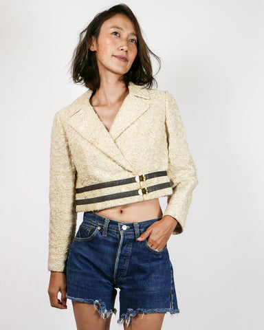 Streamline Cropped Blazer