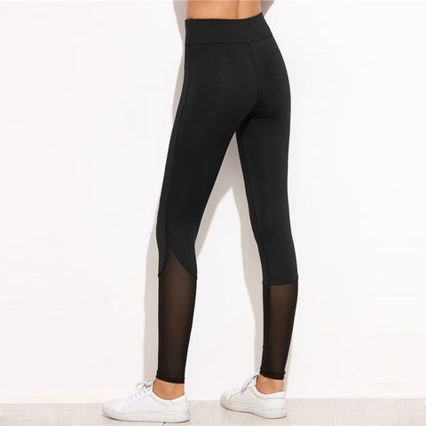 Women Workout Black Sporting Leggings