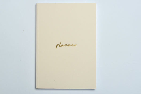 Blush And Gold A5 Planner | Old English Company