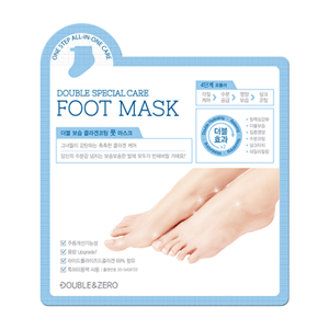 Double & Zero Double Moisture Collagen Coating Foot Mask