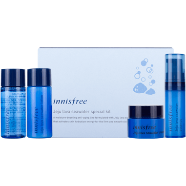 Innisfree Jeju Seawater Special Trial Kit 4 items