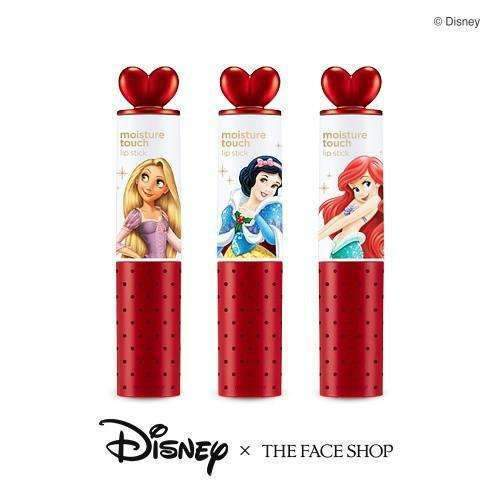 The Face Shop Moisture Touch Lipstick (Disney Princess Edition)