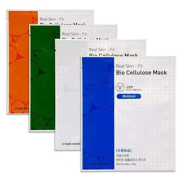 Etude House Real Skin-Fit Bio Cellulose Mask
