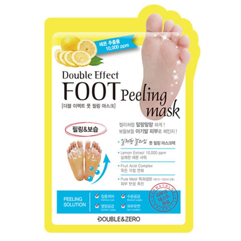 Double & Zero Double Effect Foot Peeling Mask