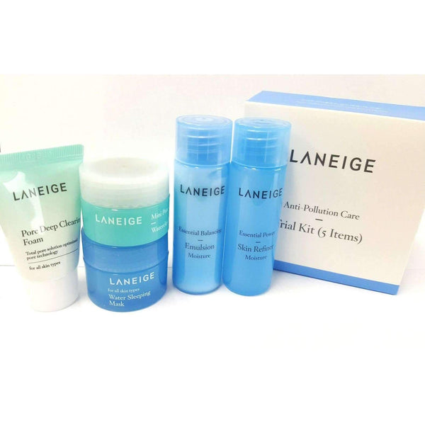 Laneige Anti-Pollution Care Trial Kit 5 items