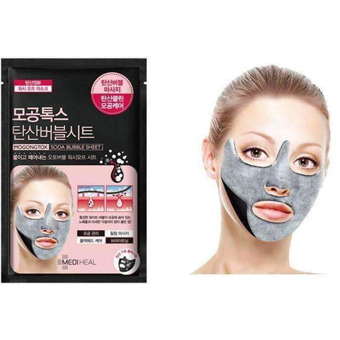 Mediheal Pore Tox Soda Bubble Sheet Mask