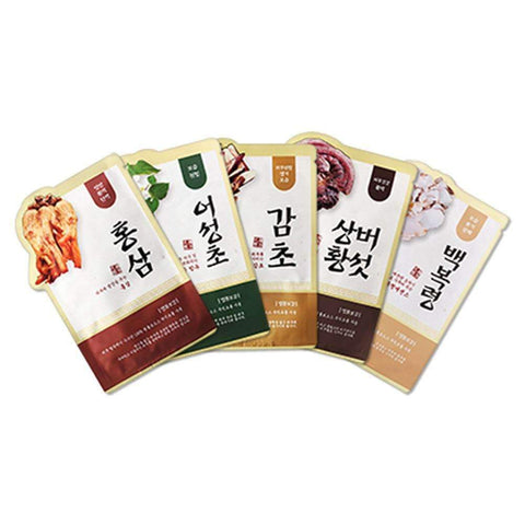 Evercos Luxury Bogam Herbal Clinic Sheet Mask