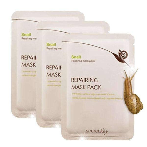 Secret Key Snail Repairing Mask Sheet
