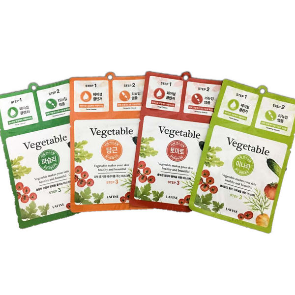 Lafine Vegetable 3 Step Essential Mask