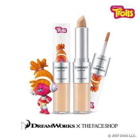 The Face Shop Concealer Dual Veil (Trolls Edition)