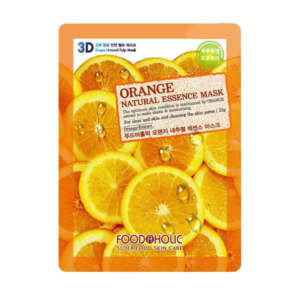 Food a Holic 3D Natural Essence Mask - Orange
