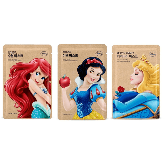 The Face Shop Disney Princess Face Mask