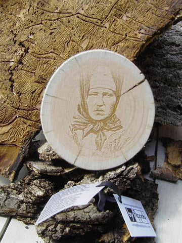 Coaster SAMÍ portrait - By Piippola