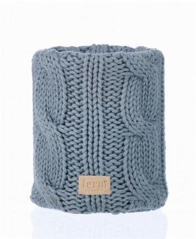 Nordic Wool - Glasvase med strik