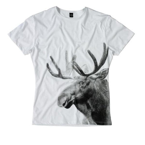T-shirt, Wild Moose, Unisex. L/XL