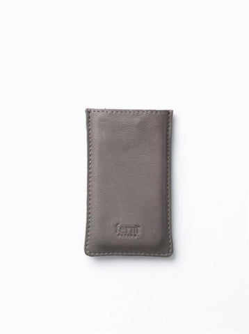 iPhone Cover/Case, Leather, Grey