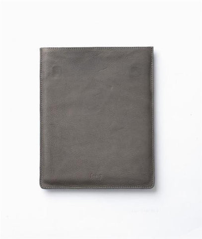 ipad Cover, Leather, Grey