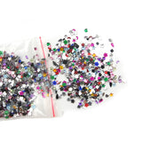 2000 PCs Nail Art Rhinestone Manicure Sticker Crystal Mixed Rhinestone Need Glue for Nails Art Decoration Gel Polishes Tips