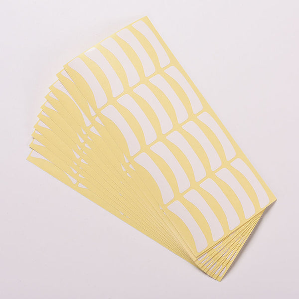 100 pairs/lot Paper Patches Eyelash Under Eye Pads Lash Eyelash Extension Eye Tips Sticker Make Up Tools