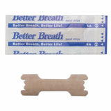 Hot Sale 200Pcs/lot Better Breathe Anti Snoring Nasal Strips Snore Stop Sleep Betrter Snoring Solution Nasal Strips Health Care