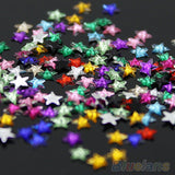 12 Colors 3D Pentagram Stickers DIY Decoration Beauty Studs Nail Art Tips Wheel 4BNT