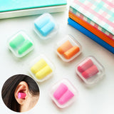 10 Pair Soft Foam Ear Plugs ear protection Earplugs anti-noise sleeping plugs for travel foam soft noise reduction with box