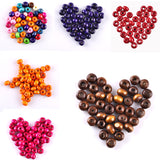 New Arrival ! 5MM 700 piece/lot DIY Natural Wooden Loose Spacer Beads for Jewelry Making Free Shipping Wholesale ly