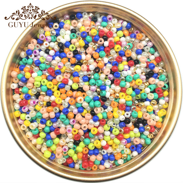 jewelry accessories/21 Color 2mm 1500pcs 20g diy seed beads/beads for jewelry making/bead for clothing or jewelry design