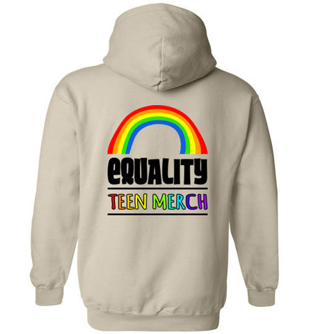 Teen Merch Equality Hoodie