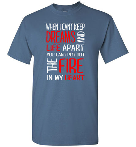 The Fire in my Heart Tee [RB]