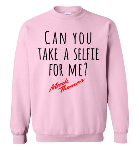 Mark Thomas Merchandise - Can you Take a selfie for me Sweater