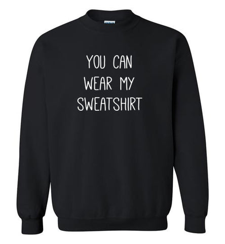 Jacob Sartorius Merchandise - You can wear my Sweatshirt