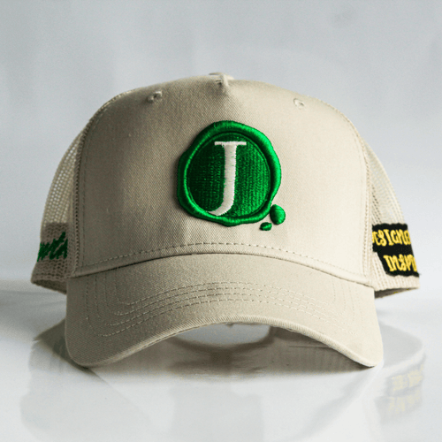Jacob's by OAB® Caps BIEGE GROWTH SEAL TRUCKER