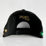 Jacob's by OAB® Caps BLACK GROWTH SEAL FLAT BRIM SNAPBACK