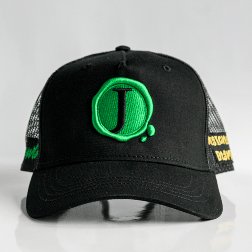 Jacob's by OAB® Caps BLACK GROWTH SEAL TRUCKER