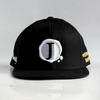 Jacob's by OAB® Caps BLACK PURITY SEAL FLAT BRIM SNAPBACK