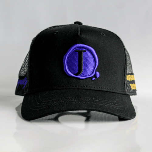 Jacob's by OAB® Caps BLACK ROYALTY SEAL TRUCKER