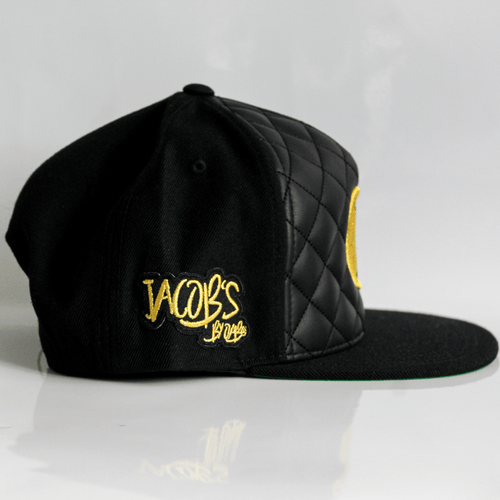 Jacob's by OAB® Caps CLASSIC SEAL DIAMOND QUILTED SNAPBACK