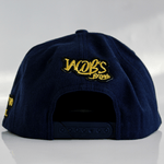 Jacob's by OAB® Caps NAVY BLUE HAPPY SEAL FLAT BRIM SNAPBACK