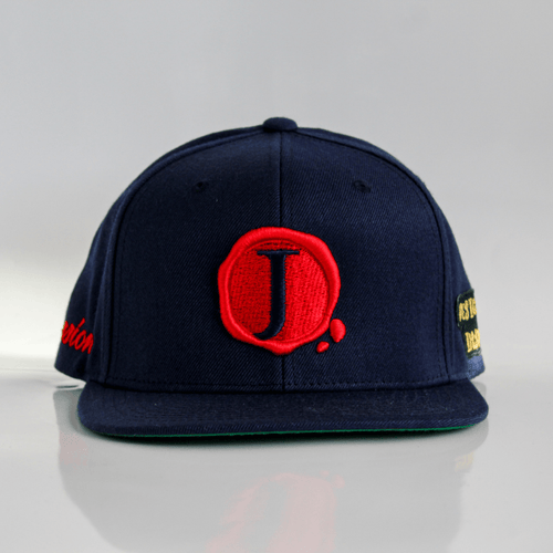 Jacob's by OAB® Caps NAVY BLUE PASSION SEAL FLAT BRIM SNAPBACK