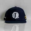 Jacob's by OAB® Caps NAVY BLUE PURITY SEAL FLAT BRIM SNAPBACK