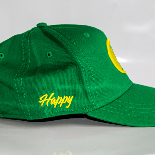 Jacob's by OAB® Caps SHAMROCK GREEN HAPPY SEAL CARGO STRAPBACK