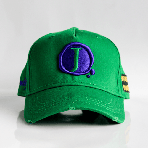 Jacob's by OAB® Caps SHAMROCK GREEN ROYALTY SEAL CARGO STRAPBACK