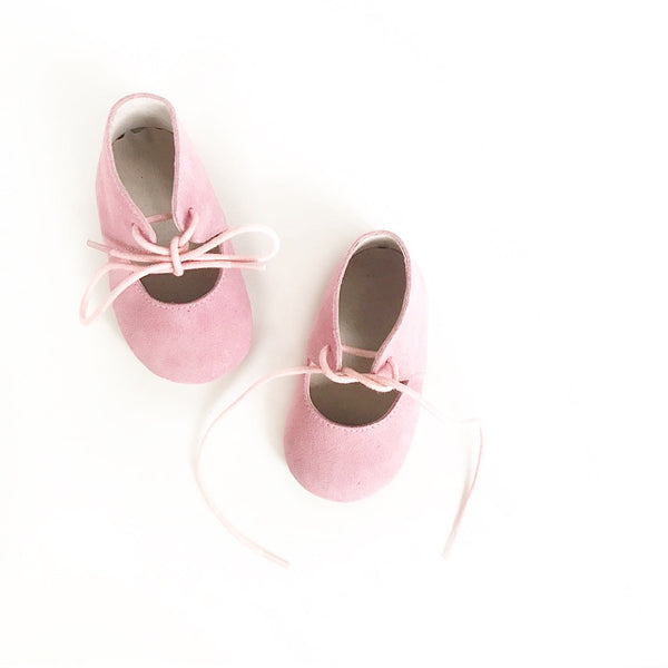 Bow Mary Janes ||  pink