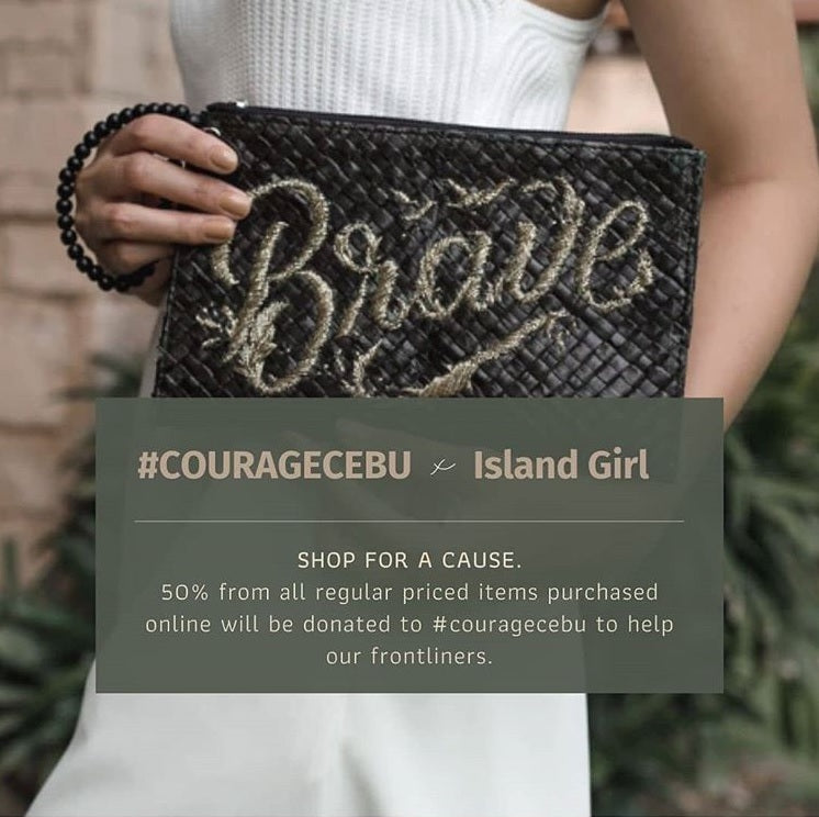 Island Girl Supports #CourageCebu
